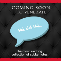 Coming soon to Venerate